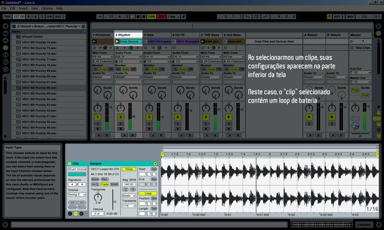 Ableton Live: Clip View