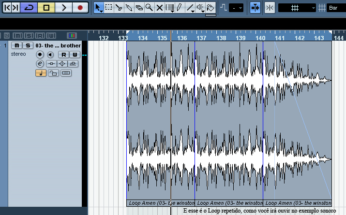 Loop pronto - Sampleando o Amen Break