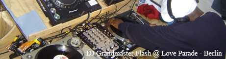 DJ Grandmaster Flash @ Love Parade